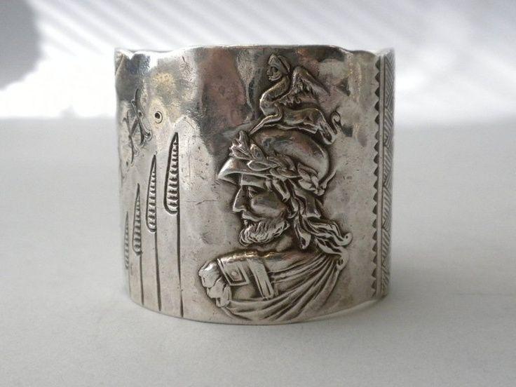 Shiebler Sterling Silver Napkin Ring Circa 1885 (NelsonandNelson)