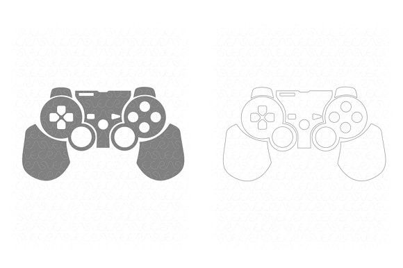 Sony PS3 Dual Shock 3 Skin Cut File | Silhouette Graphic Design