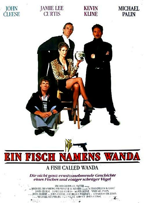 A Fish Called Wanda, 1988, Gangsterfilm, von Charles Crichton film london