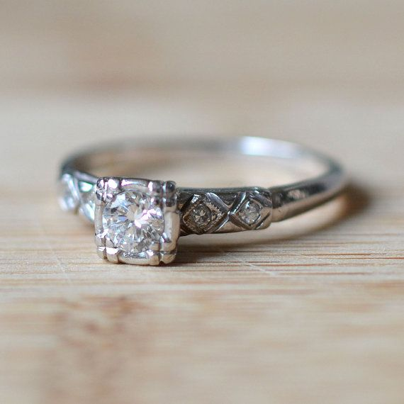 1000 ideas about 1950s Engagement Ring on Pinterest