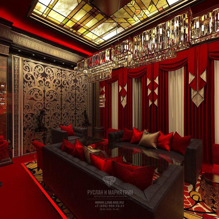 Дизайн-проект интерьера казино