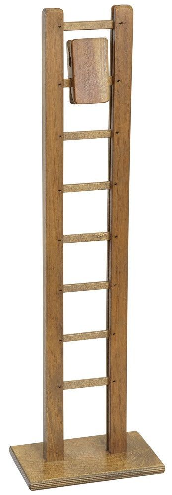 Amish Handmade MONKEY LADDER WOOD BLOCK GRAVITY TOY This classic, wooden Monkey Ladder is a perfect gift for young and old alike. An excellent, fun gravity toy is at home in a playroom or office. Meas