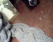 miCol -Sciarpa treccia fatta a mano : Sciarpe, foulard, cravatte di lanahandmade