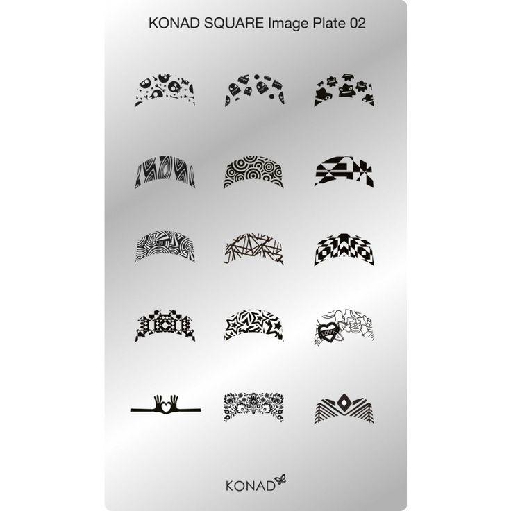 Si eres fan de la manicura francesa, esta placa es un must!!! #konad #nailart #nails #stamping