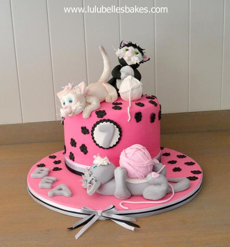 Kitten Themed Cakes