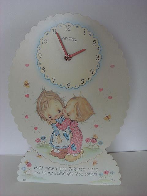 Vintage Clock of Betsey Clark