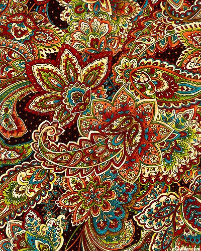 We love this colourful and lively paisley print. Screams for those festival regulars in need of a Festi-Pouch