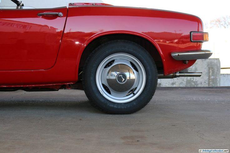 1968 Honda S800. As seen at the Lane Motor Museum, Nashville, TN, USA.