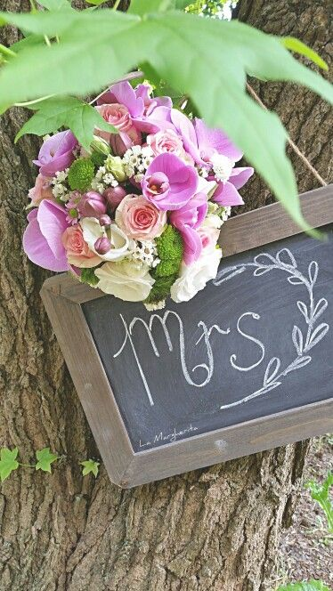 Bouquet sposa .La Margherita