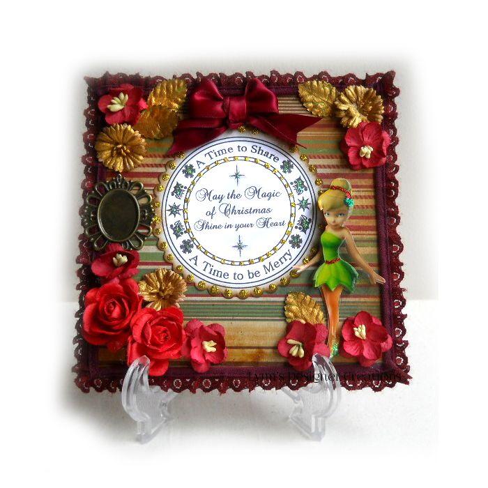 Handmade Christmas Decorative Keepsake Fairy Plaque | Lynn's Designer Creations | madeit.com.au