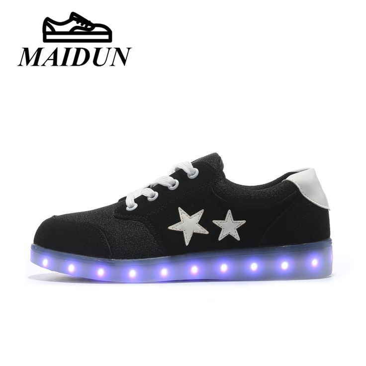 LED Light Up Luminous Shoes Men led Glowing causal USB Charge led shoes male flat with colorful Casual  Lace Unisex Hot Fashion