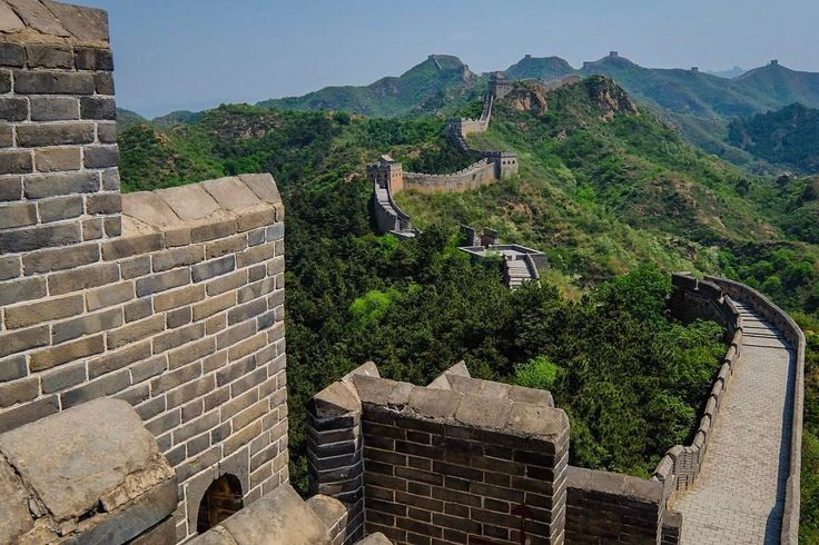 """@live_life_love_travel on Instagram: """"Great Wall, China - what an experience, we walked about 2k in each direction at the Jinshanling…"""""""