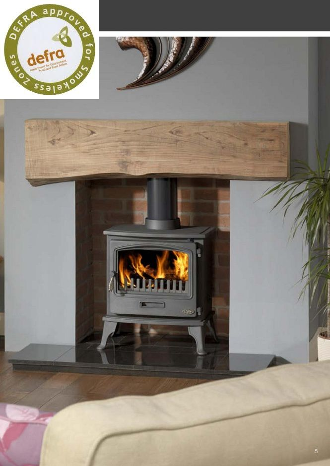 Family Room wood burning stove decor | ... stove is one of the newest additions to the gallery range of stoves