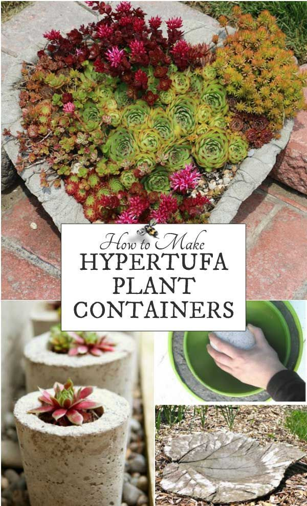 Make your own creative garden pots! Hypertufa is made from a combination of cement and natural fillers to create rustic, lightweight garden pots, troughs, planters, and other projects including sculptures. I'll give you the basics to get started plus some