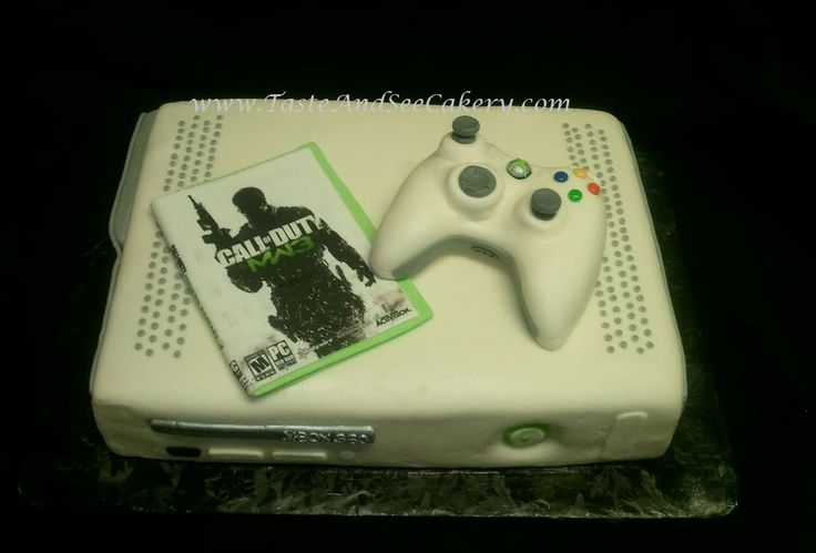 Xbox cake with controller  3D & Novelty Cake  Pinterest