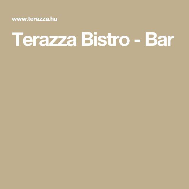 Terazza Bistro - Bar