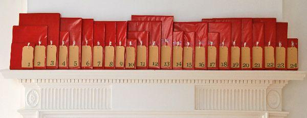 {Christmas book Advent calendar} I like this idea. Anyone done it?