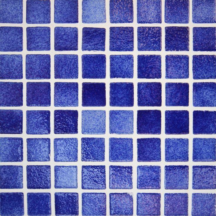 Ocean Blue Silicone Joined Spanish Pool Mosaic Tile