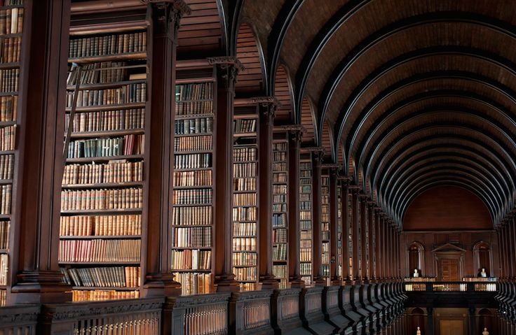 300-Year-Old Library in Dublin Featuring a Hall Filled by 200 000 Rare Books – Fubiz Media