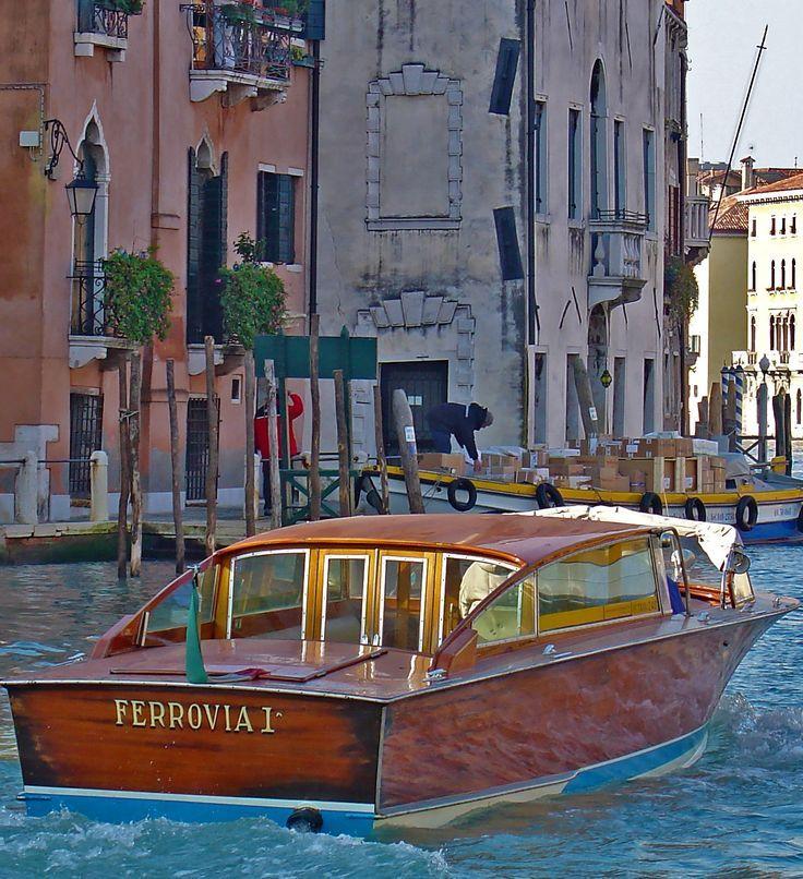 Beautiful Boats Beautiful Taxi In Venice Photo Photography Travel Italy Travel Photography Wooden Boats Italy Travel
