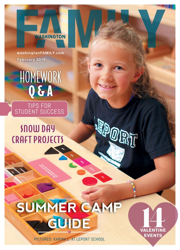Our February issue has officially hit stands! Pick up a copy or visit www.washingtonFAMILY.com for a list of family-friendly Valentine's Day events, a bunch of fun indoor crafts, a new superfood and so much more! A huge thank you to LePort Schools for our cover photo!