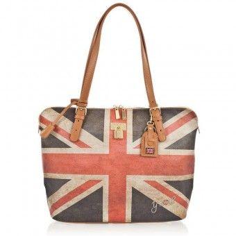 Borsa donna Y Not bandiera inglese E-377