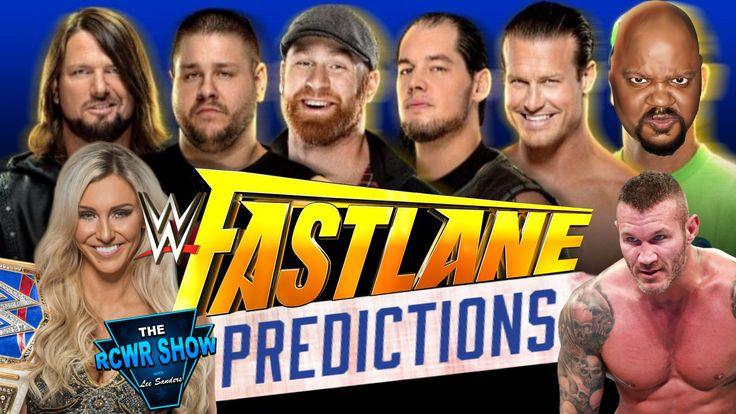 WWE Fastlane 2018 Predictions: Will AJ Styles Retain or Will John Cena Prevail?   The RCWR Show