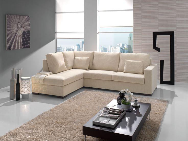 Italian Vienna Sofas of Adorable Design: Cream Fabric Italian Vienna Sofas Modern Living Room Grey Wall ~ flohomedesign.com Sofa Inspiration