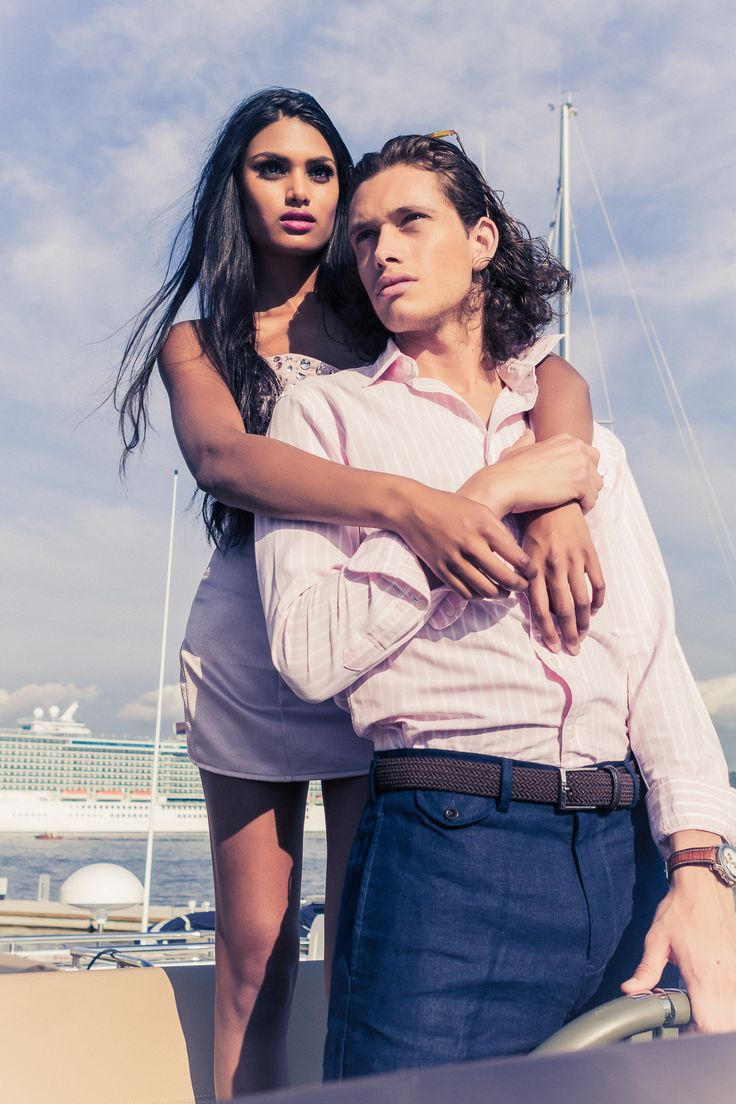 Summer 2014 Collection | Photo Edmond Yang | Model Rachana & Hans Christian | Dress #shervinnajafpour  | Oslo, Norway