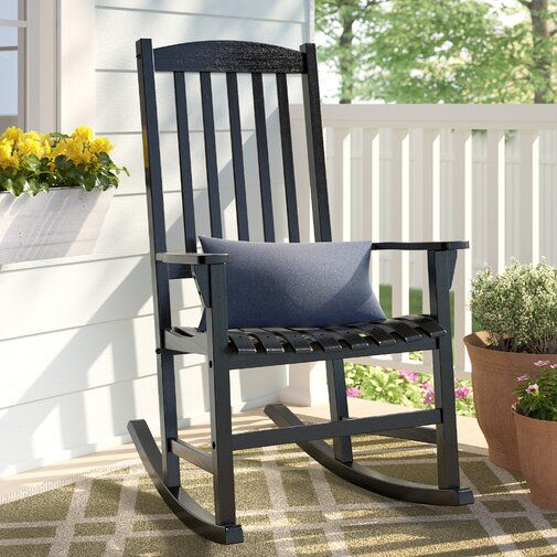 outlet store 5f439 87154 Abasi Porch Rocker Chair in 2019 | aoutdoor furniture ...