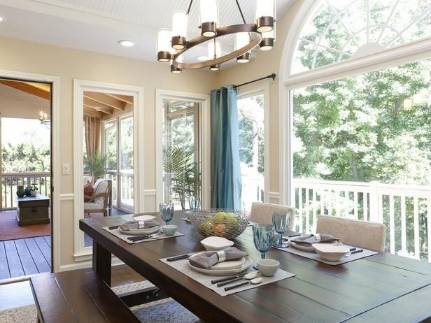Lovely Rockinu0027 Renos From HGTVu0027s Property Brothers. Sunroom DiningDining Room  ChandeliersDining ... Amazing Pictures