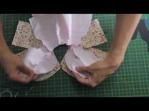Tilda Toy/Baby: costura da montagem do corpo - YouTube