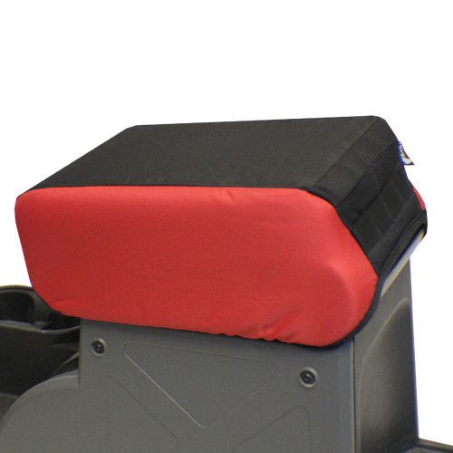 """BARTACT Jeep Wrangler JK 2007-10 2"""" raised Padded Center Console Cover - w/ MOLLE"""