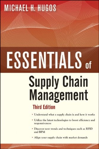 Bestseller Books Online Essentials of Supply Chain Management, Third Edition Michael H. Hugos – Can we look at the flow of personal data as a supply chain? Apply the experience, models, and practices we find in Supply Chain Management?