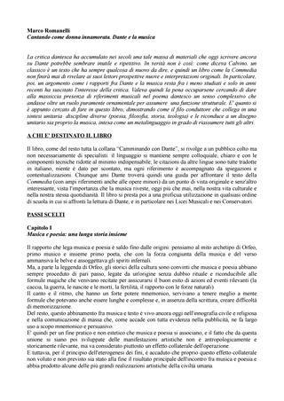 Romanelli M. - CANTANDO COME DONNA INNAMORATA, DANTE E LA MUSICA