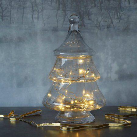 Curved Glass Tree Jar   Graham & Green