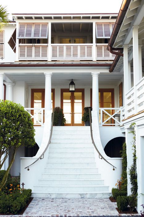 Shutters and porch