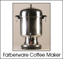 Beverages: Farberware Coffee Maker