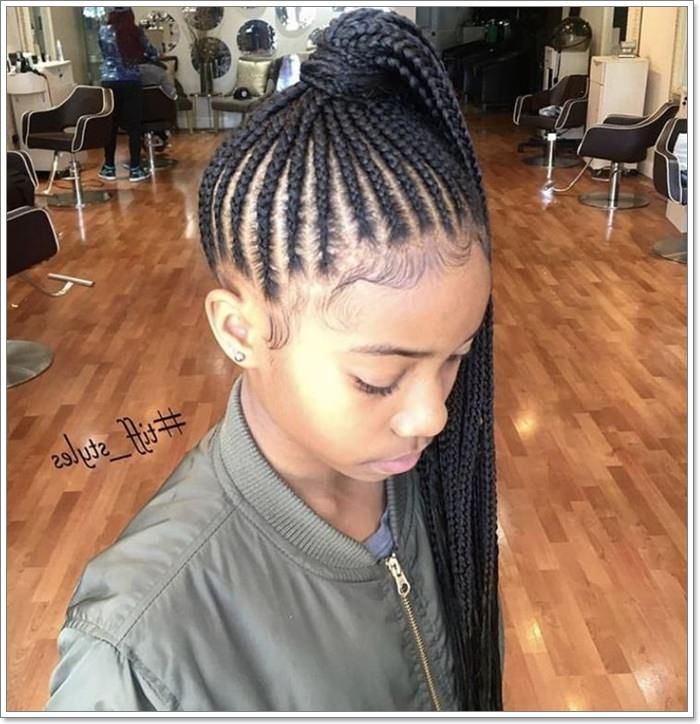 Pin By Marina Smith On Willdraw4 In 2020 Kids Braided Hairstyles Hair Styles Braided Ponytail Hairstyles