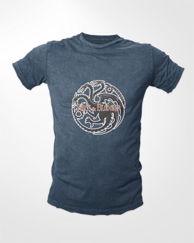 Game of Thrones Tees - House Targaryen