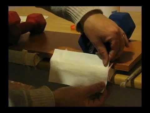 Rilegatura a mano (II parte)