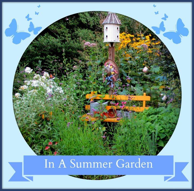 In A Summer Garden ~ Our Fairfield Home And Garden  Http://ourfairfieldhomeandgarden.