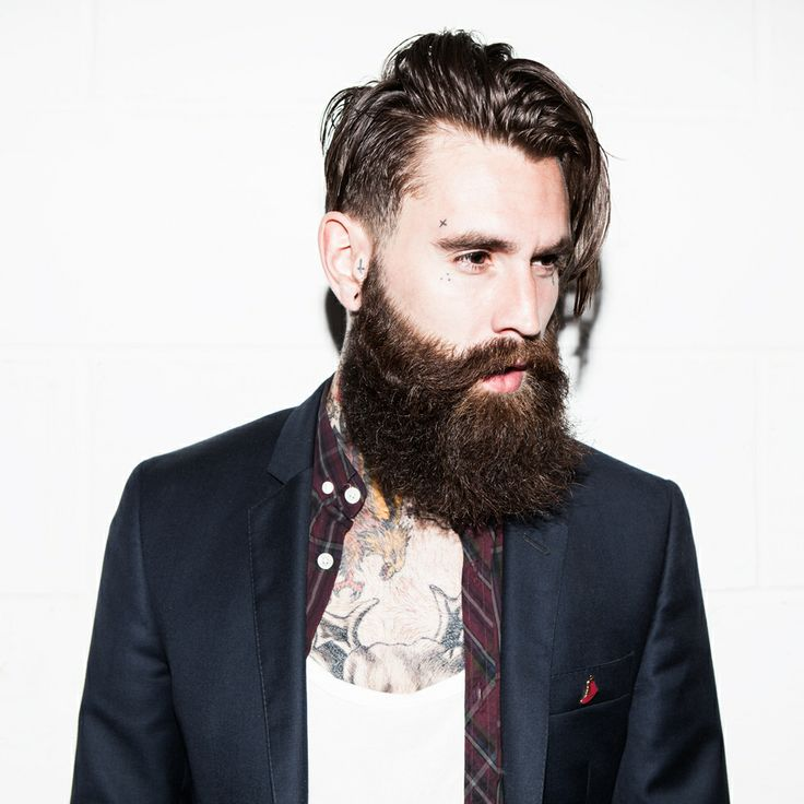 Miraculous 1000 Images About Men Style Tattoo Beards Long Hair Art On Short Hairstyles Gunalazisus