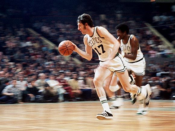 There he was a 2 time collegiate player of the year and won an NCAA Championship in 1960 with teammate, John Havlicek.