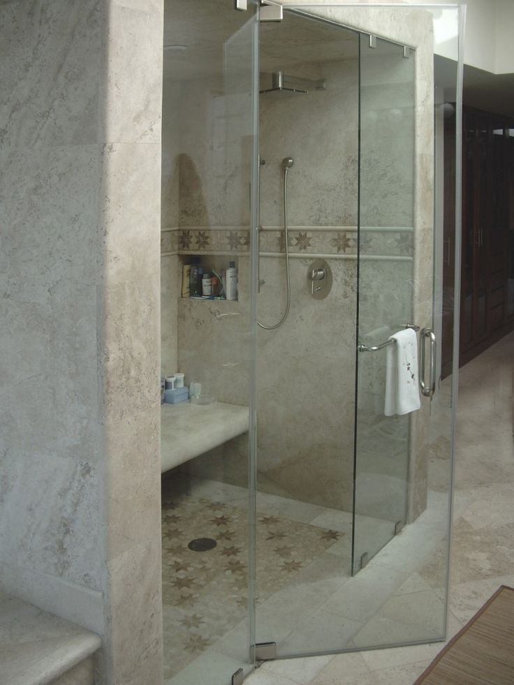 Full Height Glass Shower Doors