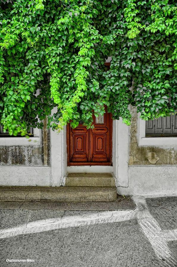 Door in Kokkari, Samos, Greece