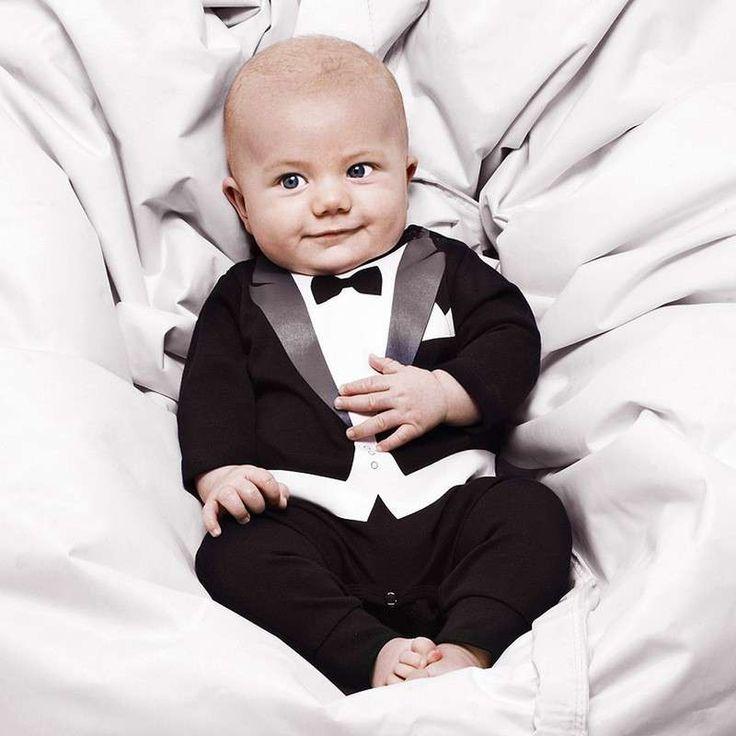 Vestitini bambino e bambina per il battesimo - Smoking per bambini