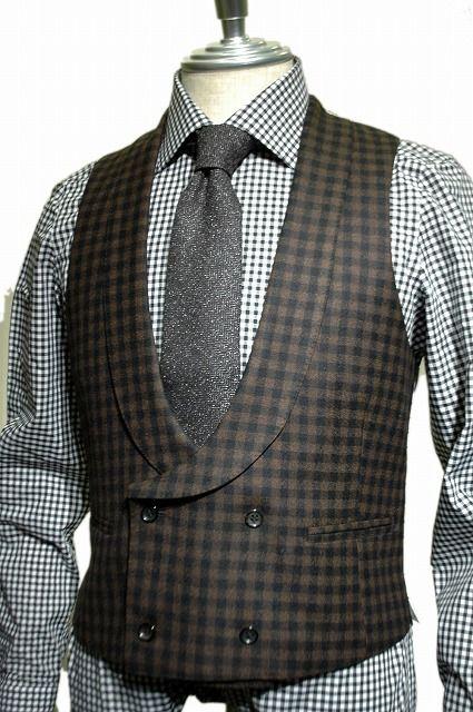 double breasted waistcoat.