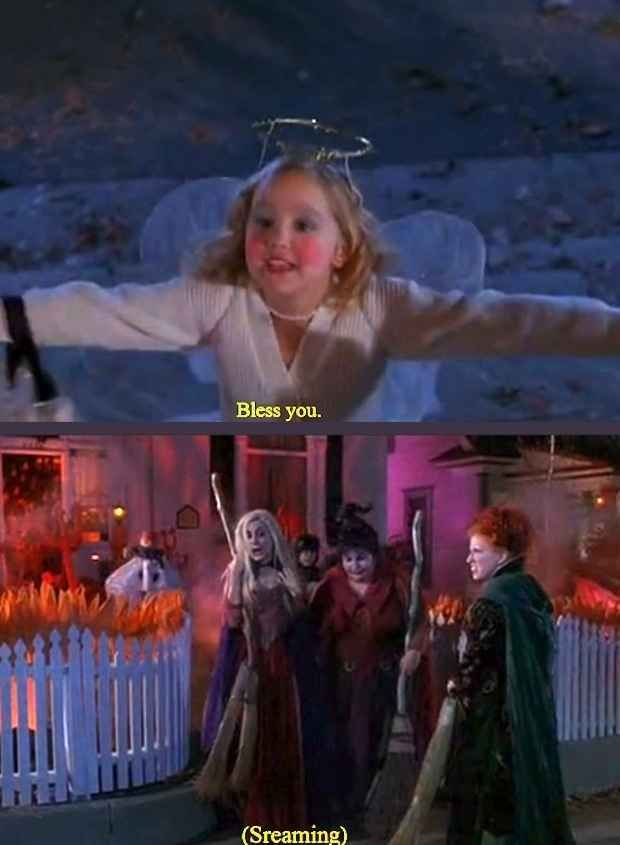 """Because even though the movie was hilarious: 