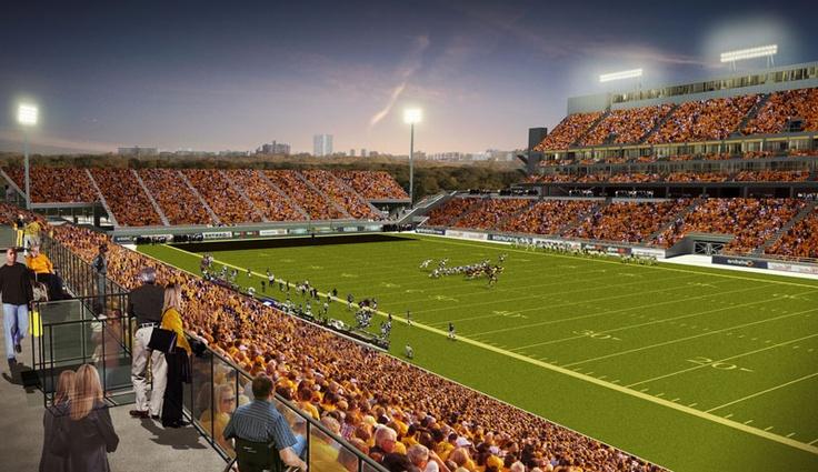 City of Hamilton - New Pan Am Stadium artist rendering